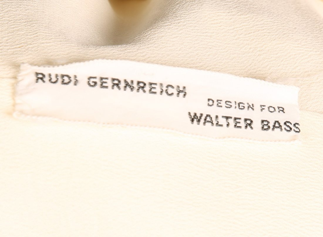 c1965 Rudi Gernreich Cream 2 Pc Ladies' Suit - 6