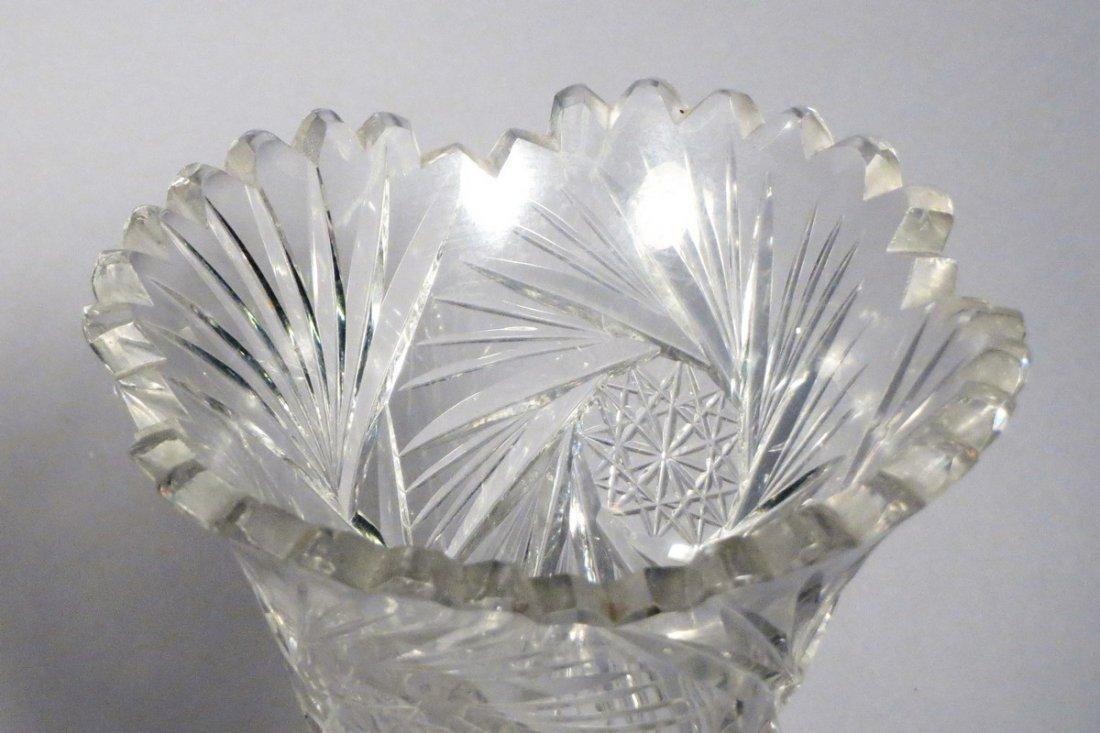 American Brillant Cut Crystal Lot - 2