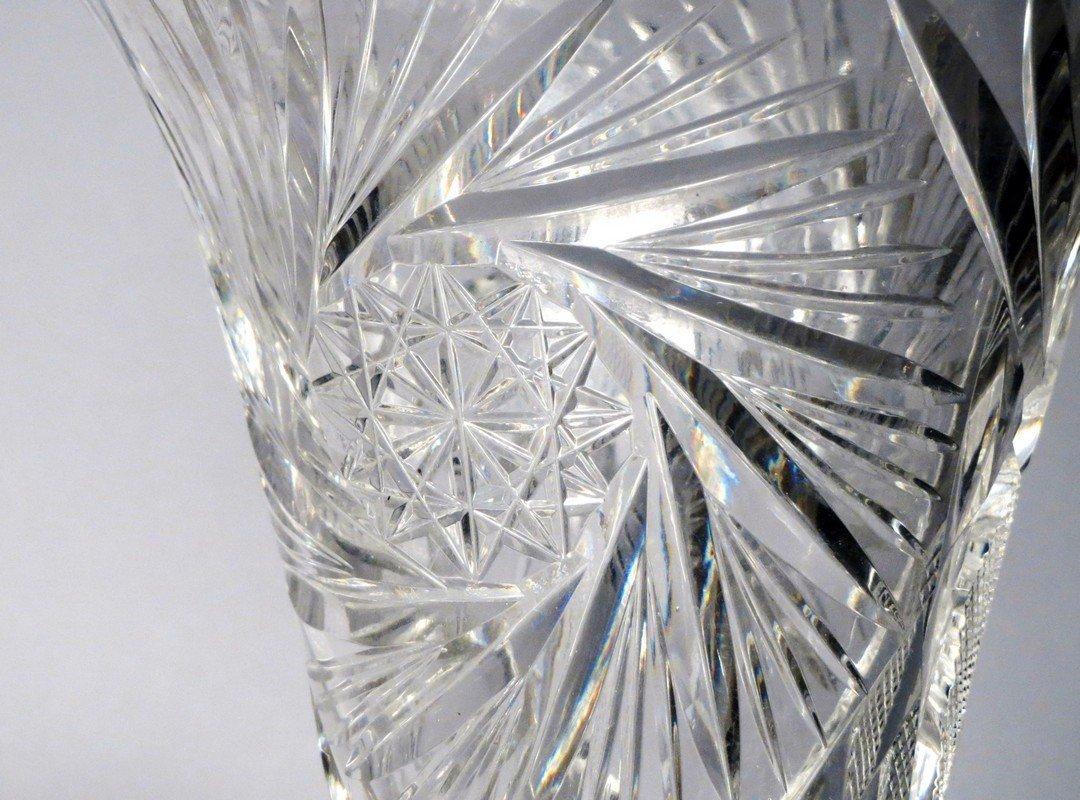 American Brillant Cut Crystal Lot - 3