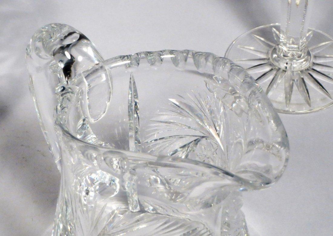 American Brillant Cut Crystal Lot - 4