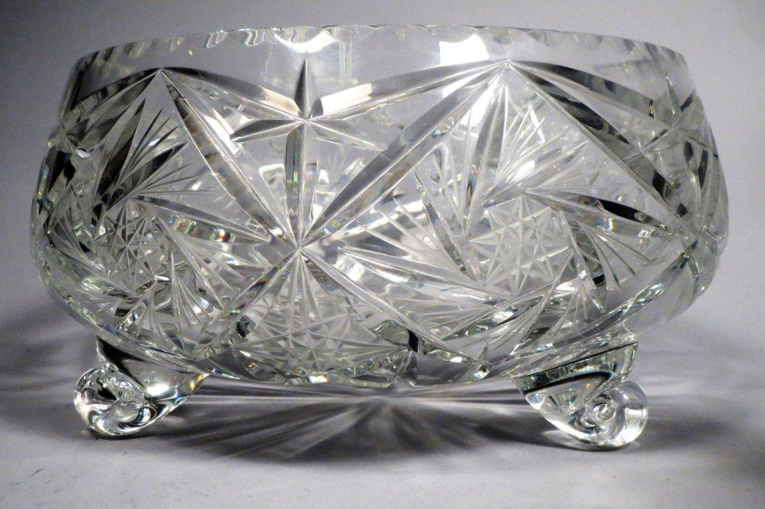 American Brillant Cut Crystal Lot - 5