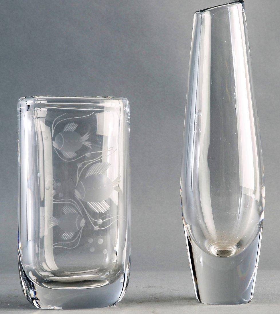 Orrefors Signed Vase PLUS