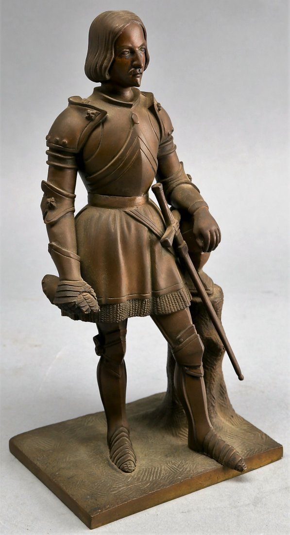 Antique Statue of a knight