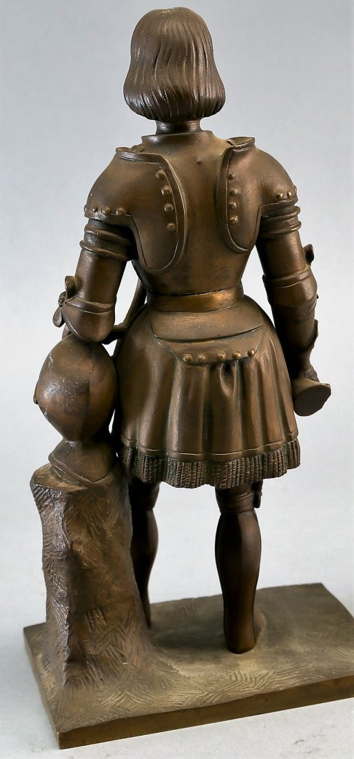 Antique Statue of a knight - 2