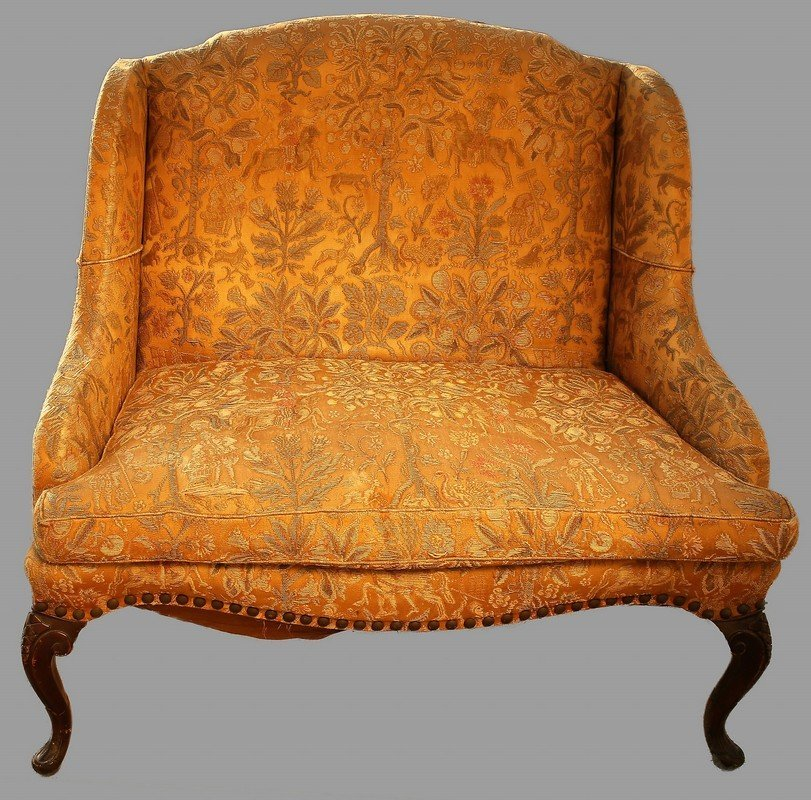 Large Antique Easy Chair