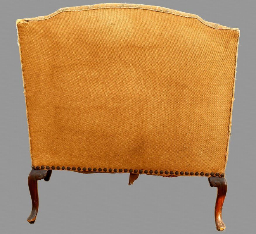 Large Antique Easy Chair - 2