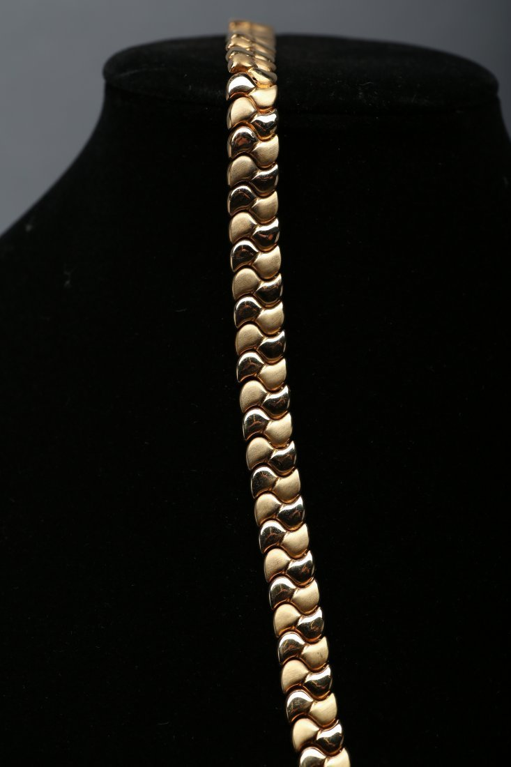 14K Yellow Gold Necklace - 2