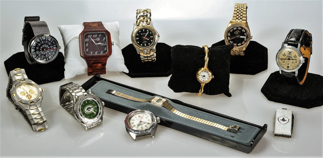 10 Assorted Watches