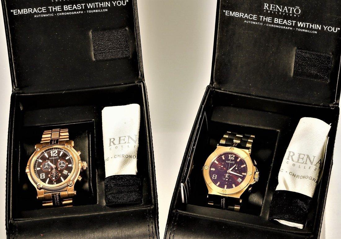 2 Renato Collezioni & Limited Chronograph Mens Watches