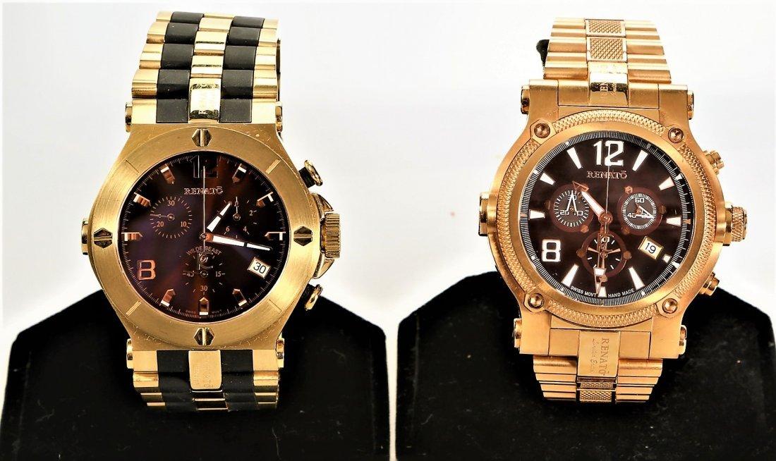 2 Renato Collezioni & Limited Chronograph Mens Watches - 2