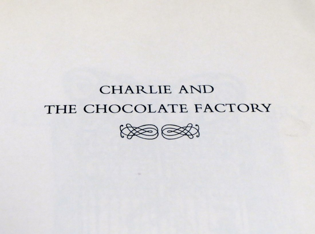 Charlie And the Chocolate Factory 1st edition, 2nd - 2