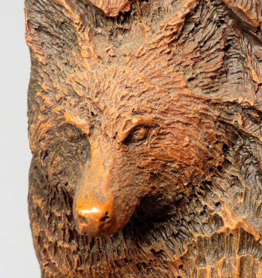"""Rick Cain \""""WOLF PRINCE\"""" Sculpture Signed & Numbered - 6"""