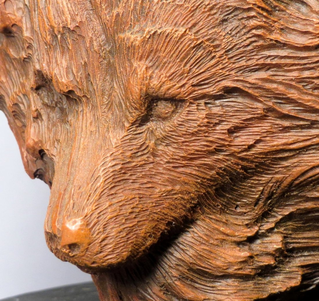 """Rick Cain \""""WOLF PRINCE\"""" Sculpture Signed & Numbered - 7"""