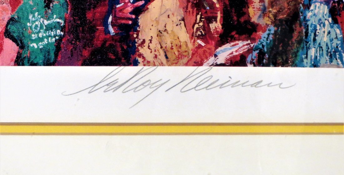 Leroy Neiman Hand Signed FX Whiskey Bar - 2
