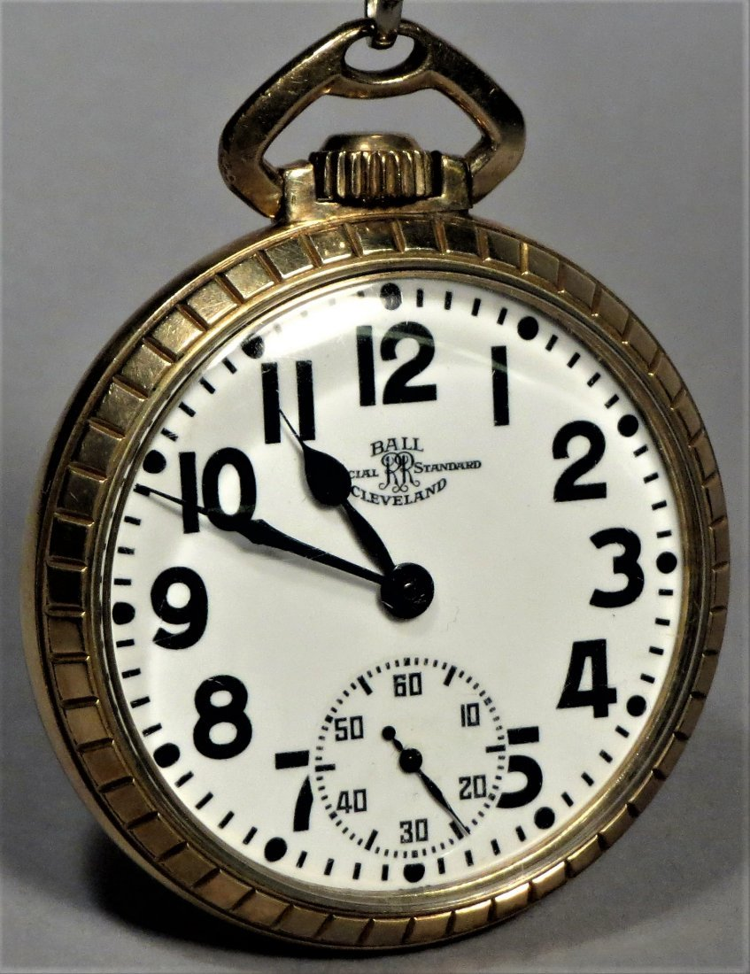 Ball Official Standard 21 Jewel Railroad Pocket Watch