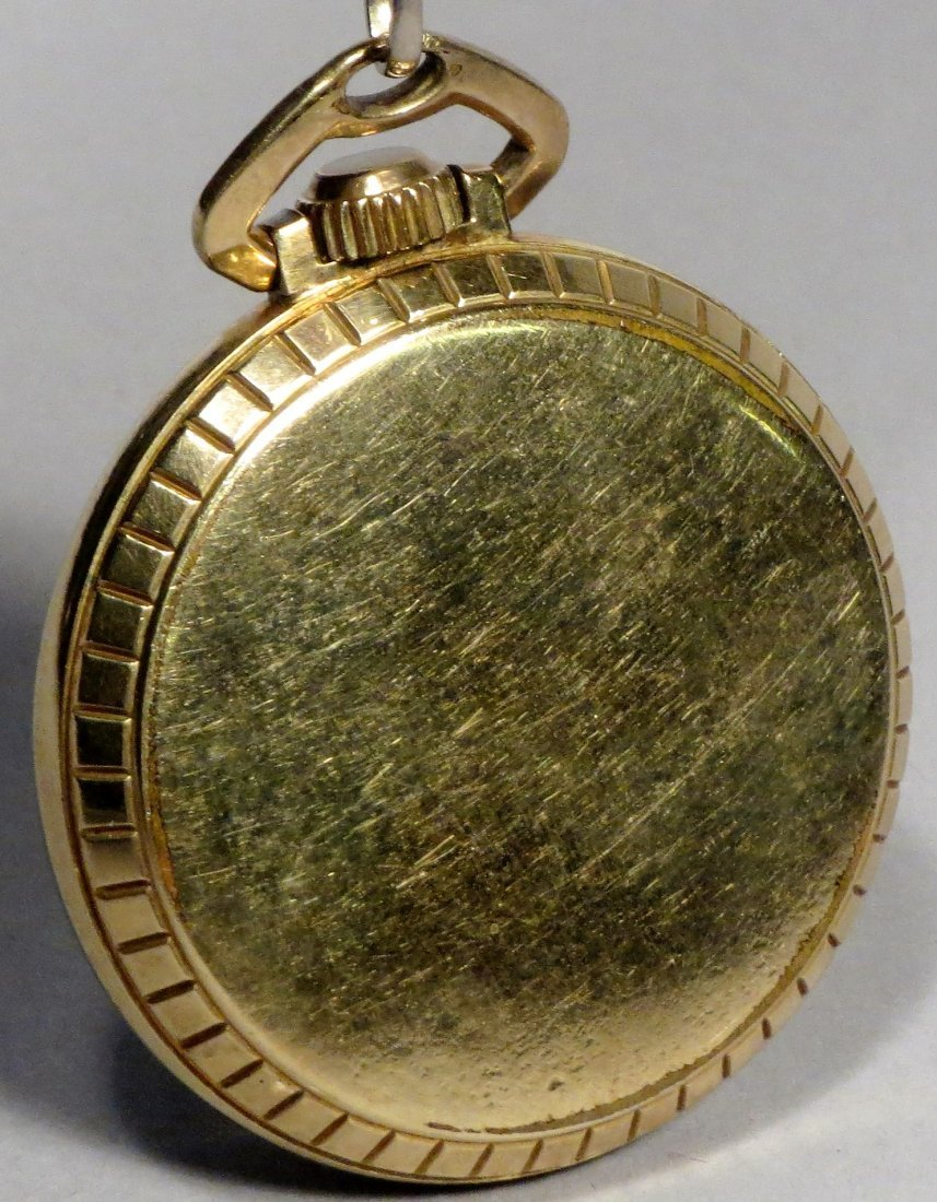 Ball Official Standard 21 Jewel Railroad Pocket Watch - 4