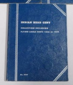 3 books Pennies 1859-1969 - 2