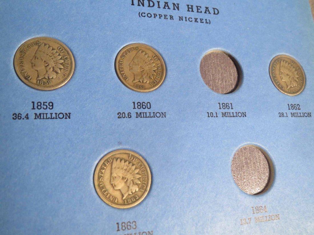 3 books Pennies 1859-1969 - 5