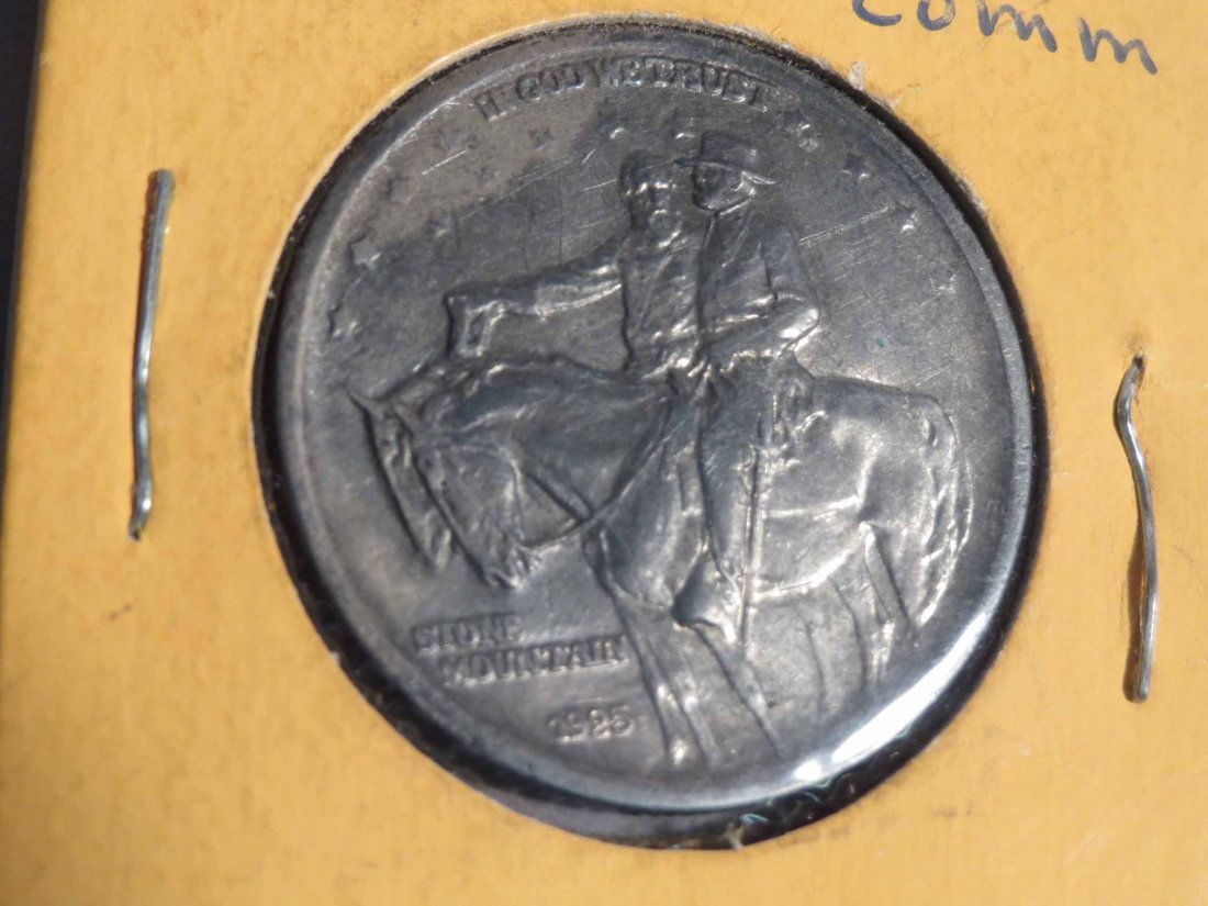1925 Stone Mountain Half Dollar - 4