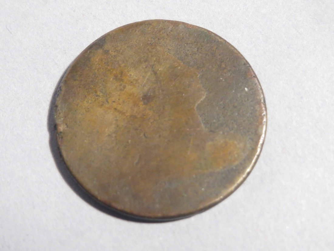 1802? 1804? American 1 Large Cent, Half Cent - 3