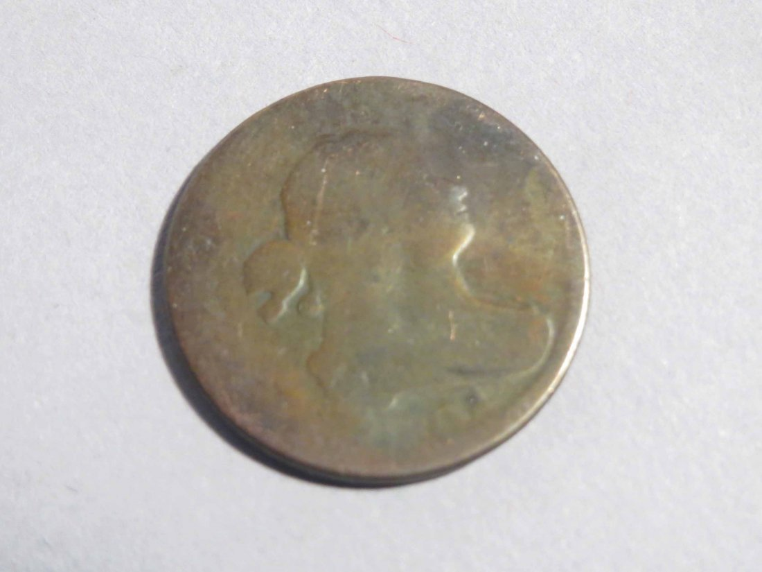 1802? 1804? American 1 Large Cent, Half Cent - 4