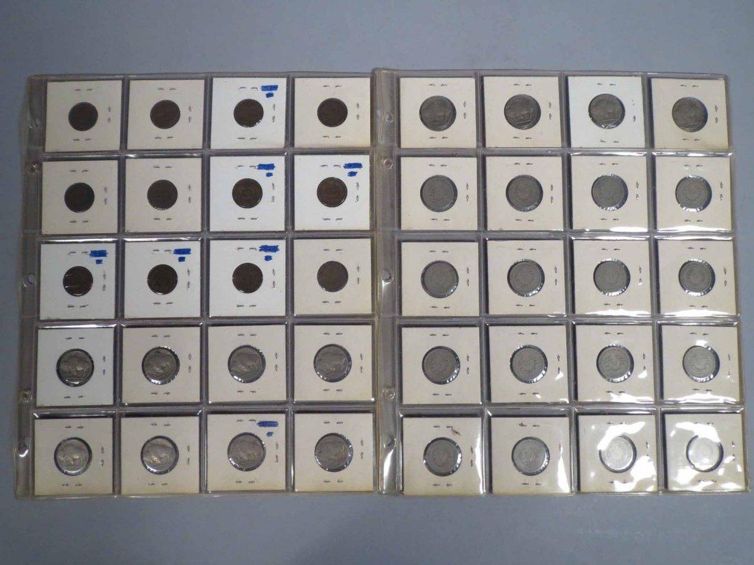 Lot of V Nickel, Buffalo Nickel, Indian cent Carded - 2