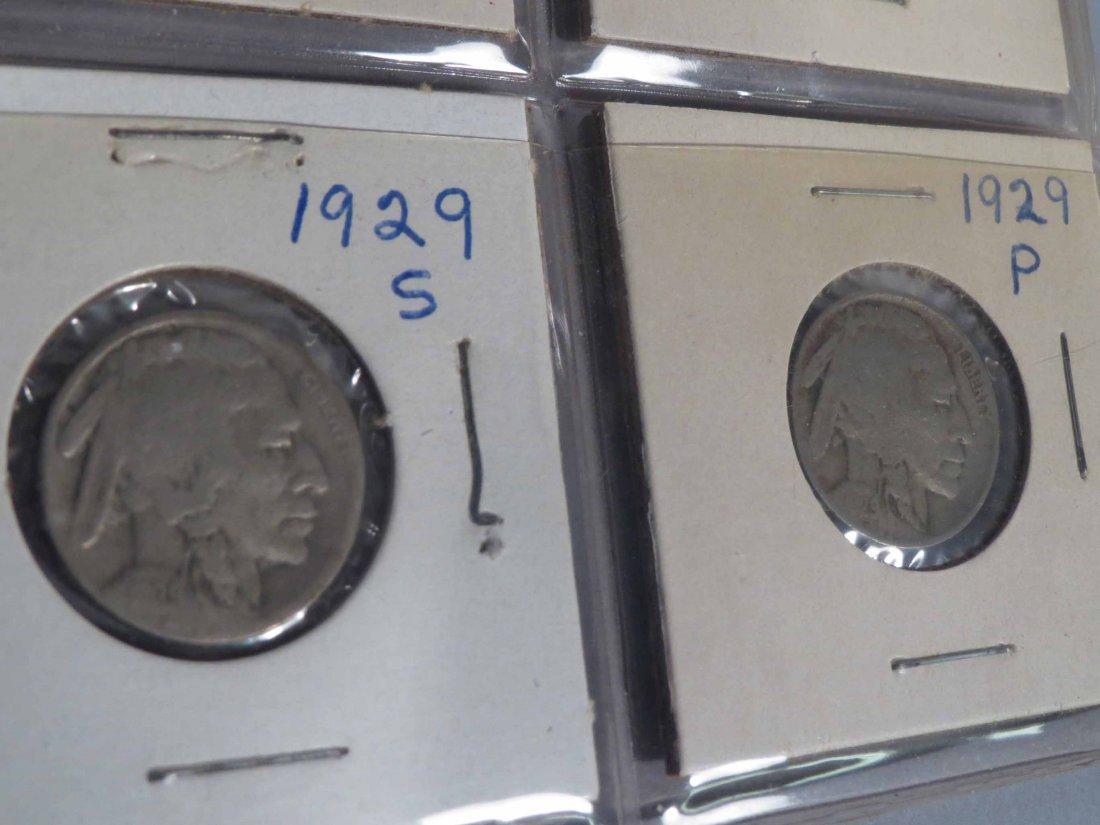 Lot of V Nickel, Buffalo Nickel, Indian cent Carded - 4