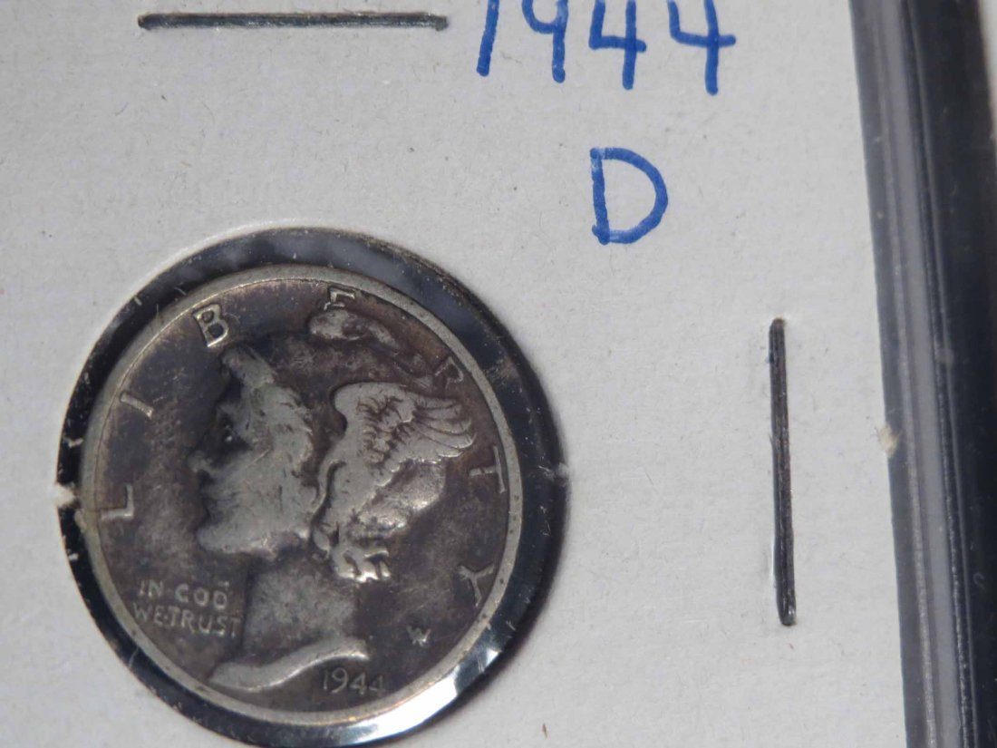 Lot of 66 Silver Dimes Carded - 9