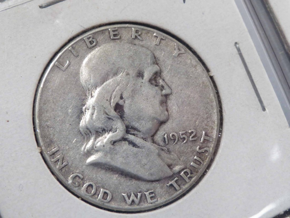 Lot of 81 Silver Half Dollar Carded