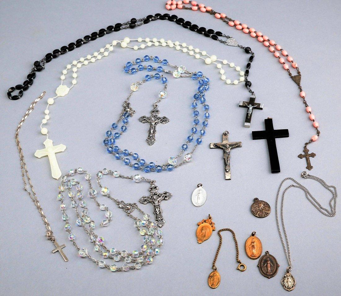 Lot of Crosses and Pendants