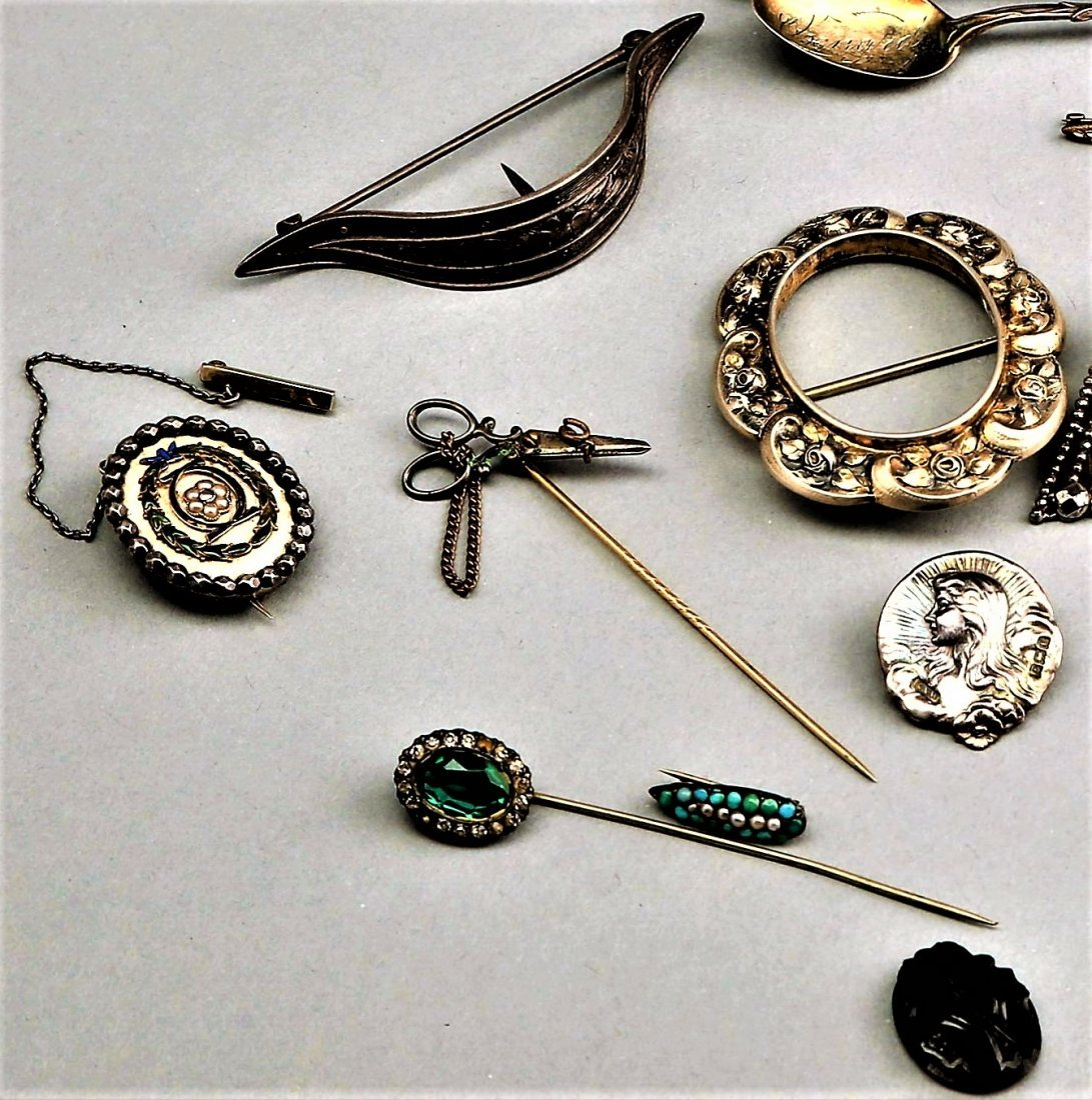 Lot Of Costume Jewelry Including Sterling - 3