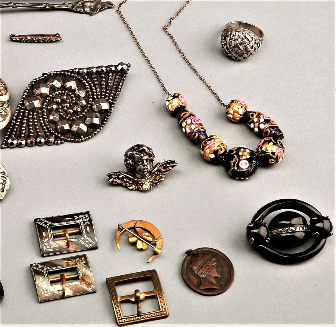Lot Of Costume Jewelry Including Sterling - 4