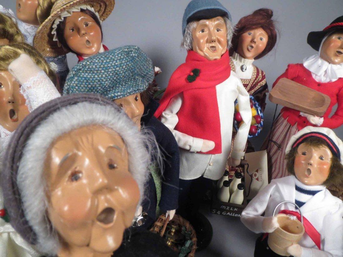 Lot 12 Of  Byers Choice Ltd. The Carolers Dolls - 10