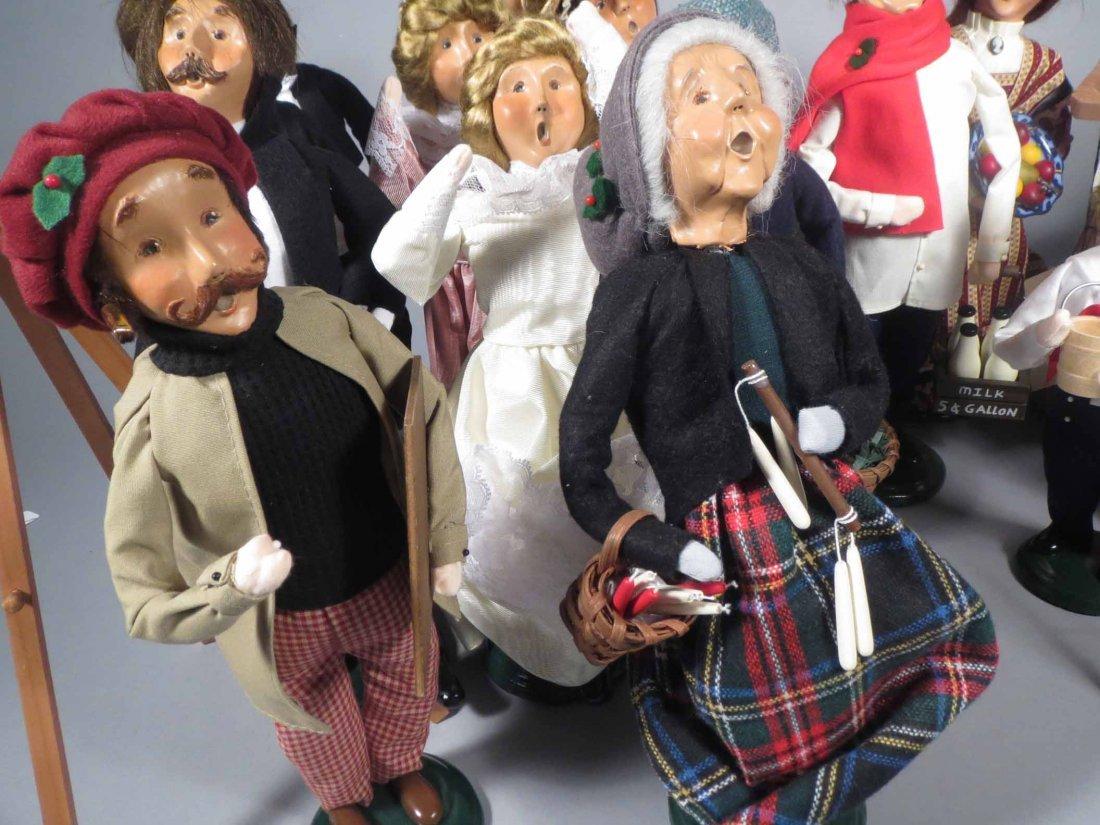 Lot 12 Of  Byers Choice Ltd. The Carolers Dolls - 5