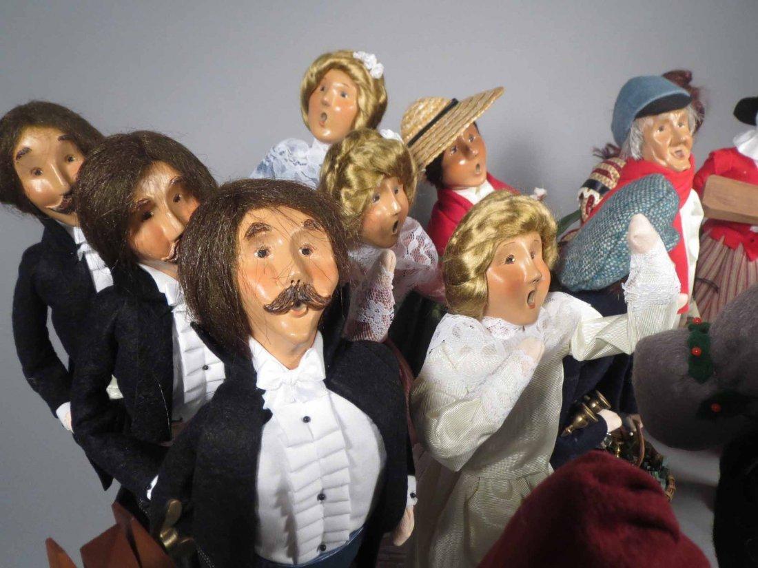 Lot 12 Of  Byers Choice Ltd. The Carolers Dolls - 6