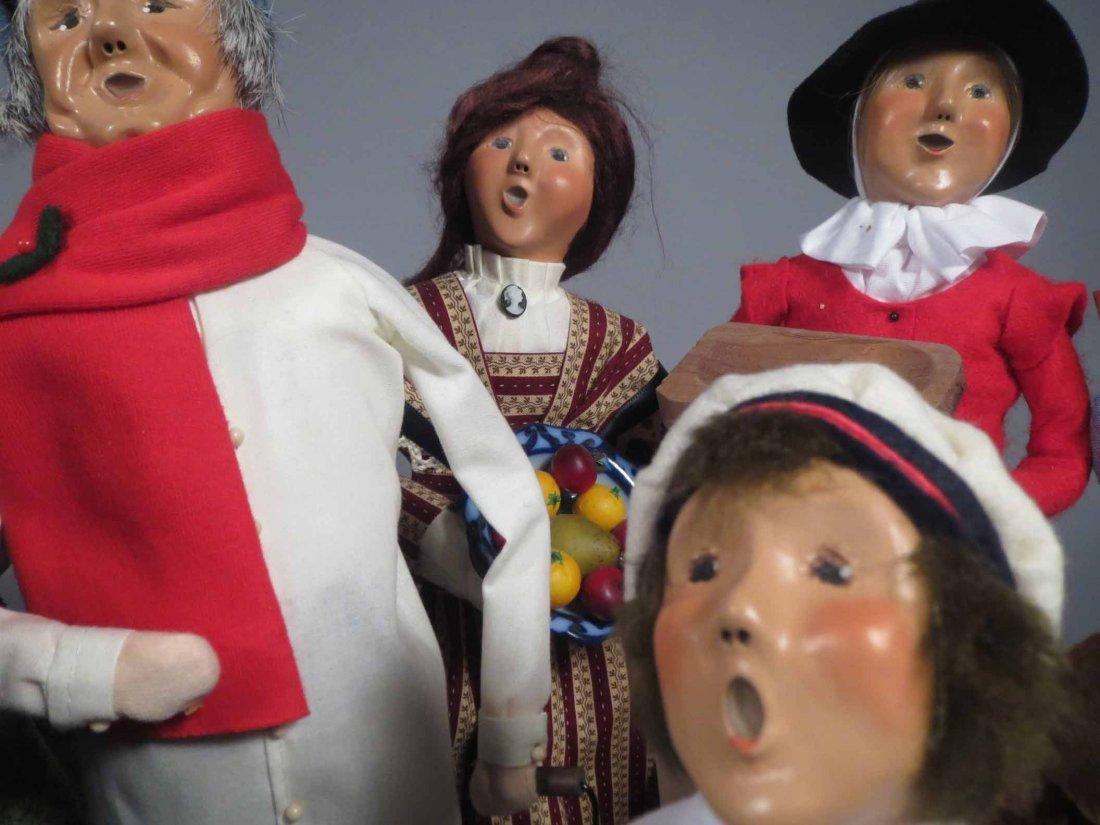 Lot 12 Of  Byers Choice Ltd. The Carolers Dolls - 8