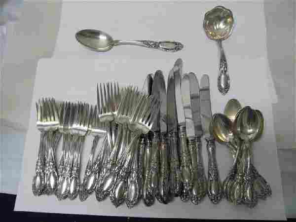 KING RICHARD TOWLE SILVER CHOICE 50 PIECE SERVICE FOR