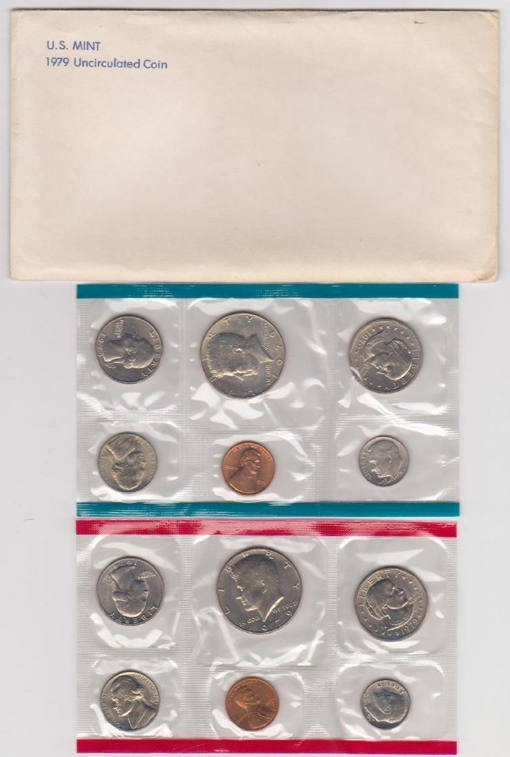 1979 P & D Mint Set in Original U.S. Government
