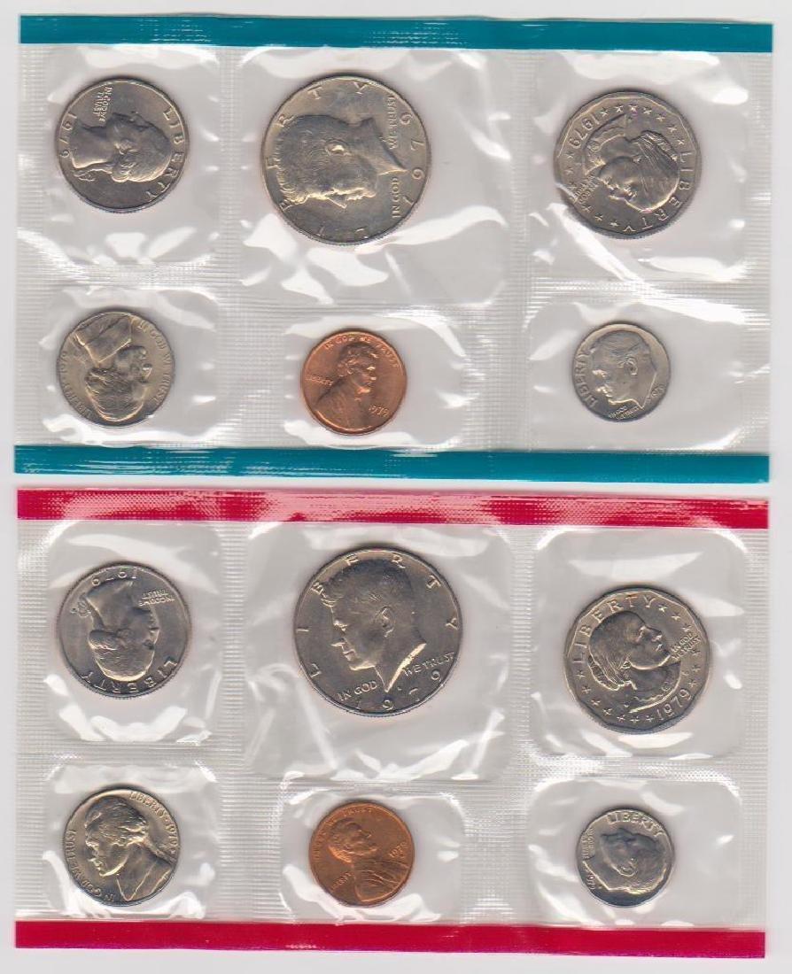 1979 P & D Mint Set in Original U.S. Government - 2