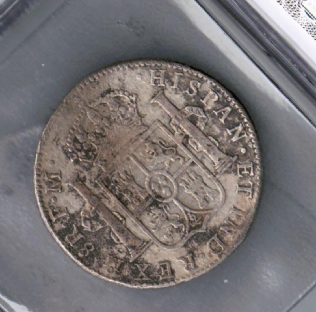 1798 SPANISH CAROLUS 8 REALES CERT SHIPWRECK - 2