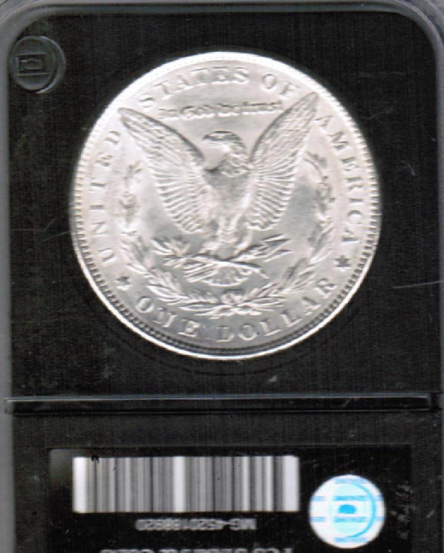 1889 MORGAN SILVER DOLLAR UNCIRCULATED - 2