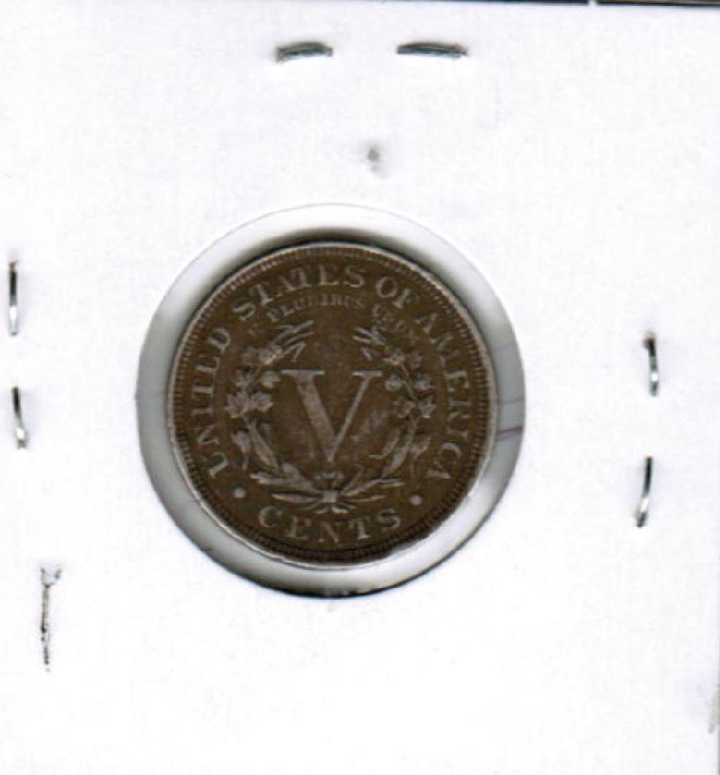 1906 LIBERTY HEAD NICKEL VG - 2