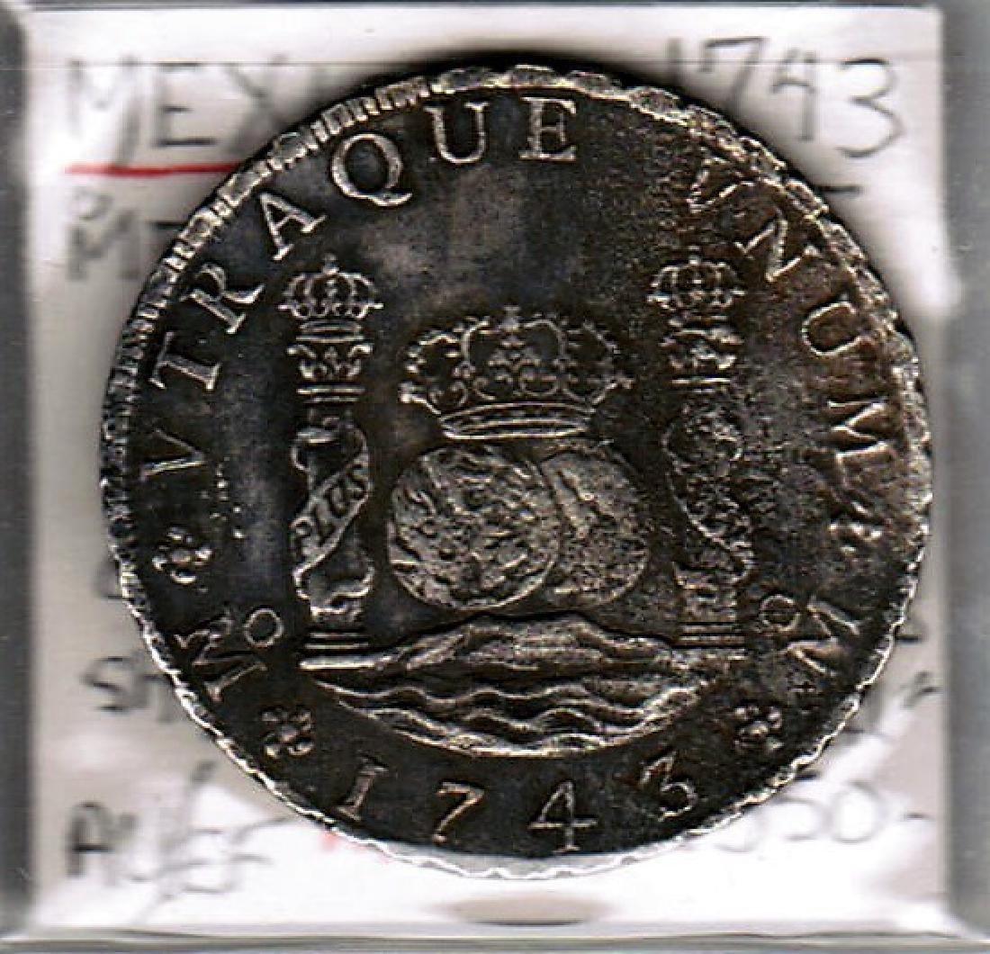 1743 PHILLIP 111 8R SHIPWRECK MEXICO XF-EU