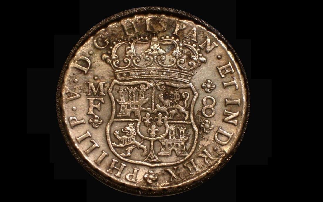 1743 PHILLIP 111 8R SHIPWRECK MEXICO XF-EU - 3