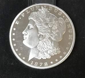Paper Weight 12 oz Copy Of 1878 Morgan Dollar