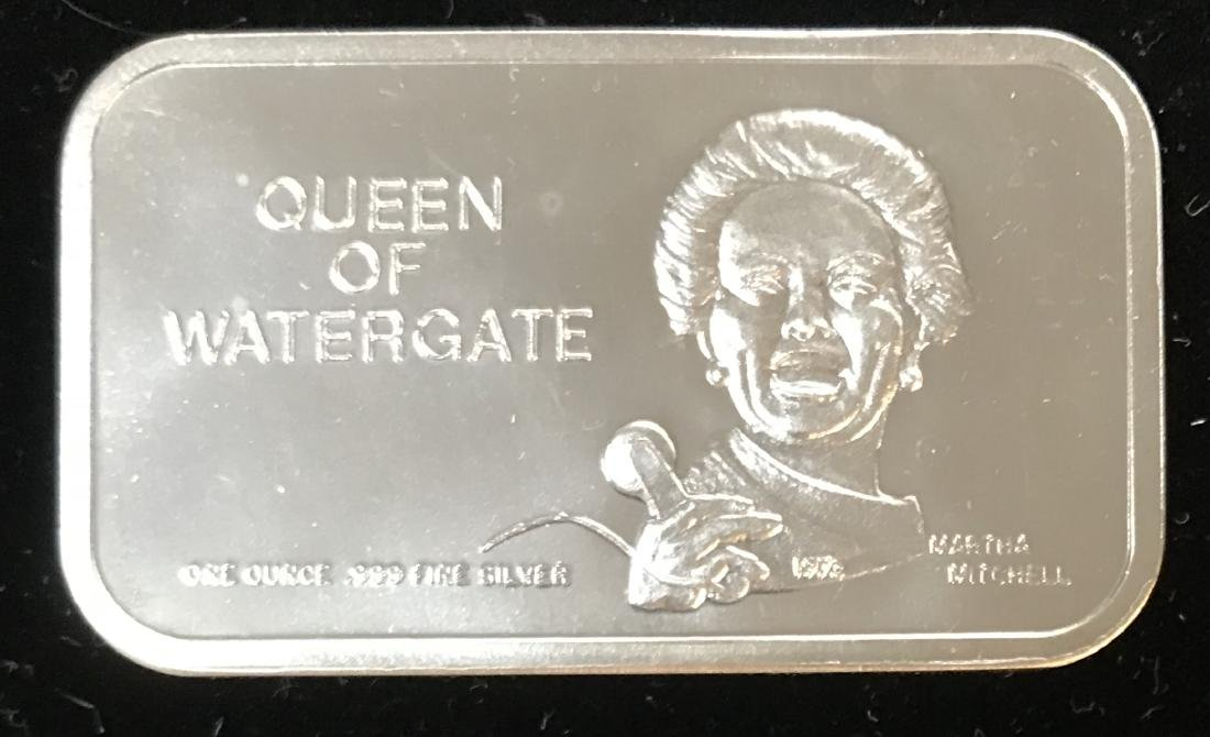 1973 Martha Mitchell Queen of Watergate Colonial Mint
