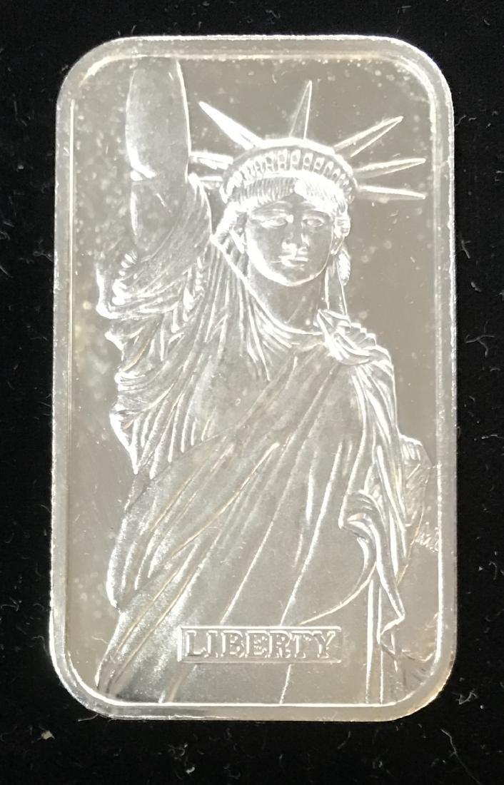 1986 Statue of Liberty ENGELHARD / MTB 1 tr oz .999