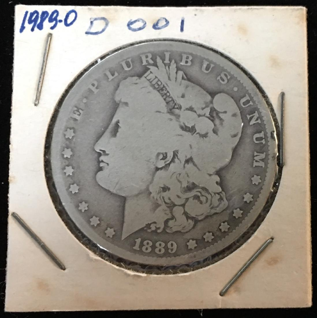 1889-O $1 Morgan Silver Dollar