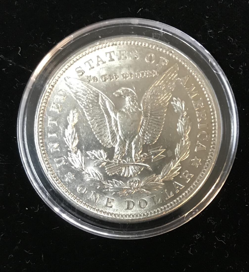 1921-P $1 Colorized Morgan Dollar Silver in Capsule - 2