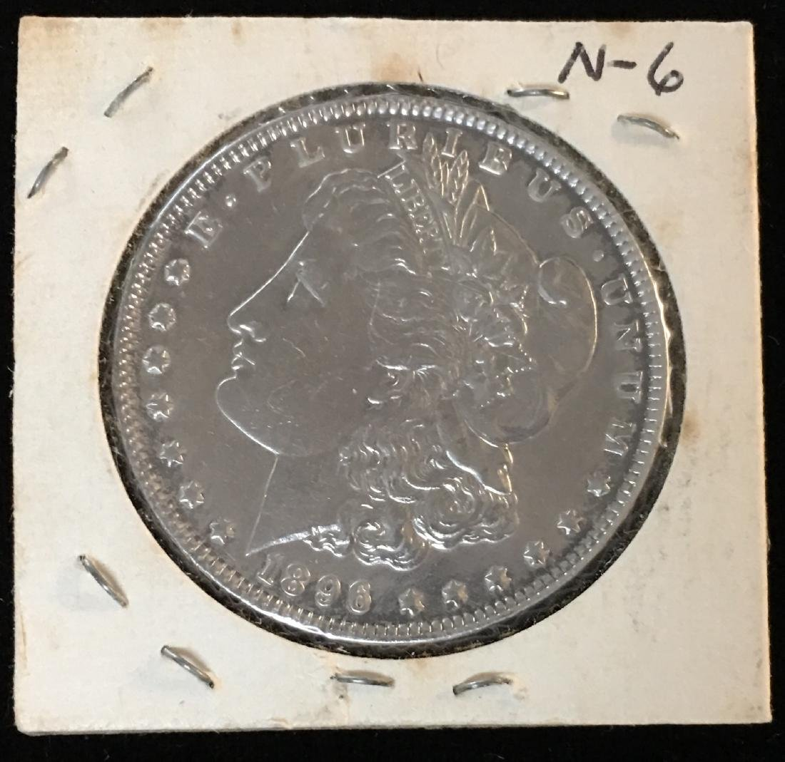1896-P $1 Morgan Silver Dollar